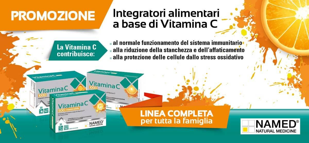 Scopri la Vitamina C NAMED
