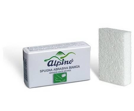 Alpino Spugna Abrasiva Bianca Anticallosità