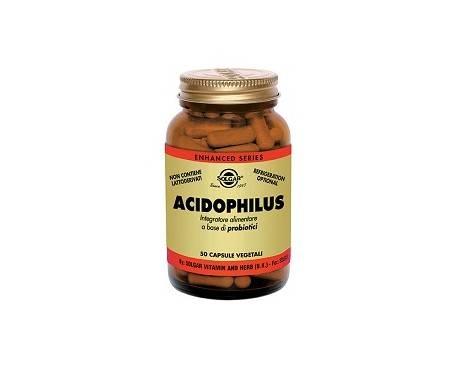 Solgar Acidophilus LA-5 Integratore Probiotici 50 Capsule