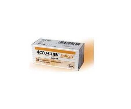 Accu-Chek Softclix Lancette Pungidito per Glicemia 200 Pz