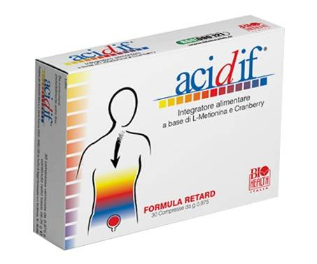 Acidif - Integratore per il benessere delle vie urinarie - 30 compresse