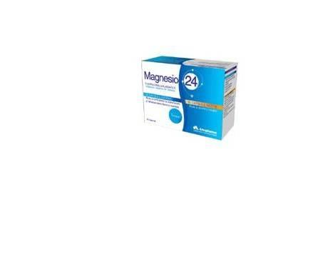 Arkopharma Magnesio 24 Doppia Azione Integratore Rilassante 60 Capsule