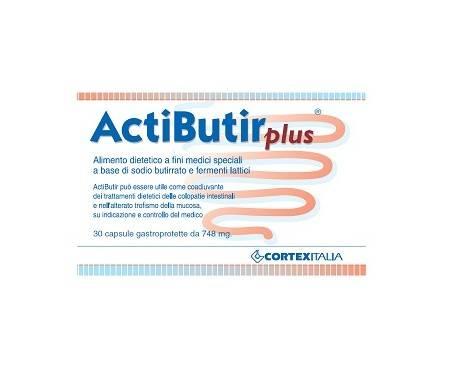 Actibutir Plus Integratore 30 Capsule