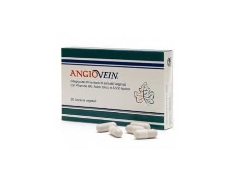 Angiovein Integratore Microcircolo 20 Capsule