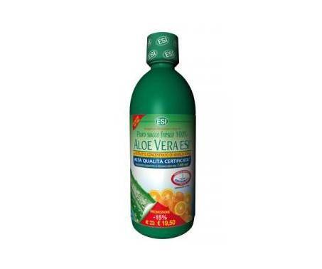 Esi Aloe Vera Puro Succo Arancia Rossa Integratore Depurativo 1000 ml