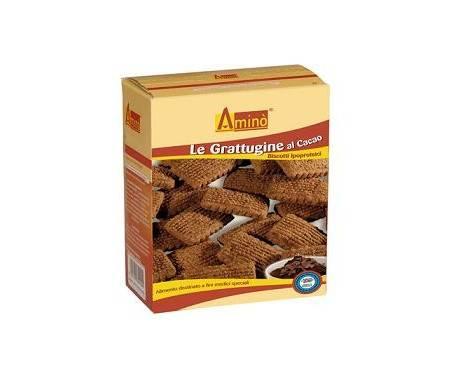Aminò Le Grattugine Al Cacao Biscotti Ipoproteici 200 g
