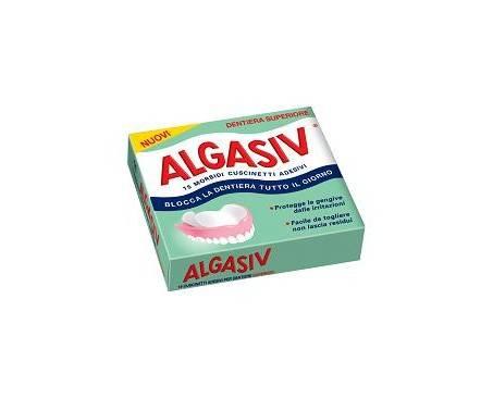 Algasiv Adesivo per Protesi Superiore 15 pezzi