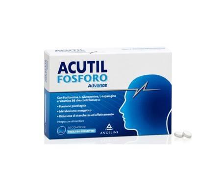 Acutil Fosforo Advance - Integratore per memoria e concentrazione - 50 compresse