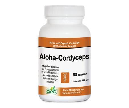 Aloha-Cordyceps Integratore Alimentare 90 Capsule