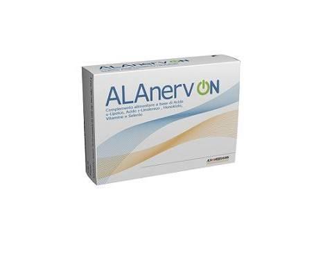 Alanerv On Integratore Antiossidante Neurotrofico 20 CAPSULE scadenza febbraio 22