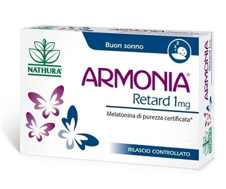 Armonia Retard - Integratore per disturbi del sonno - 120 compresse da 1 mg