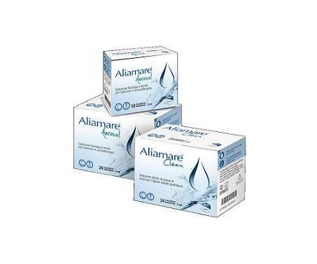 Aliamare Aerosol Soluzione Fisiologica Sterile 10 Flaconcini
