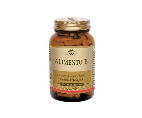 Solgar Alimento B Integratore di Vitamina B 50 Capsule