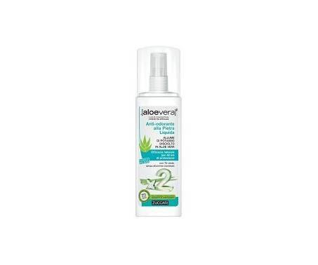 Zuccari Aloevera2 Deodorante alla Pietra Liquida Anti-odori 100 ml