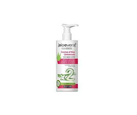 Zuccari Aloevera2 Crema D'Aloe Universale Viso Mani Corpo 300 ml
