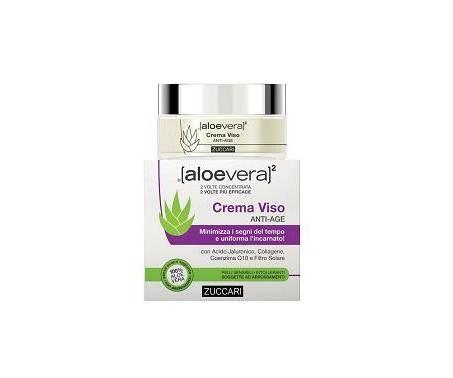 Zuccari Aloevera2 Crema Viso Antiage 50 Ml