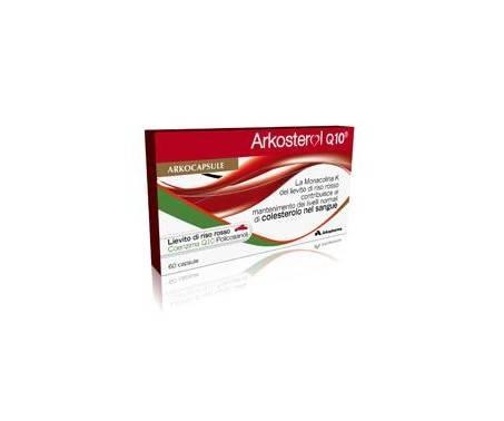 Arkosterol Q10 Integratore Antiossidante 60 Capsule