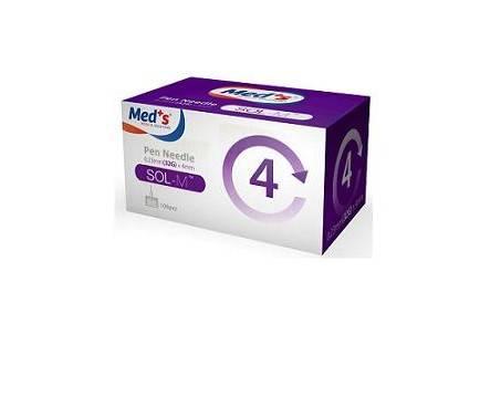Med's Ago Penna 31G Da Insulina 6 mm 100 Pezzi