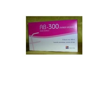 AB-300 Lavaggi Vaginali 5 Flaconi 140 ml