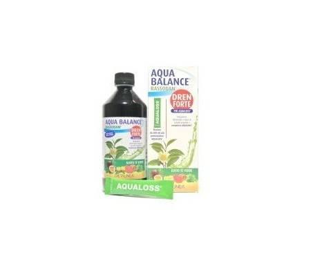 Aqua Balance Rassodan Dren Forte Gusto Tè Verde Integratore 500 ml