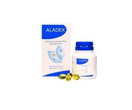 Aladex Integratore Difese Immunitarie 20 Perle