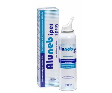 Aluneb Iper Spray Nasale Soluzione Ipertonica 3% Decongestionante 125 ml