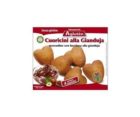 Agluten Cuoricini Alla Guianduja Senza Glutine 150 g