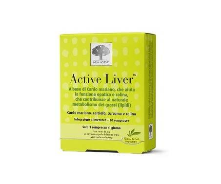 Active Liver Integratore Epatico 30 Compresse