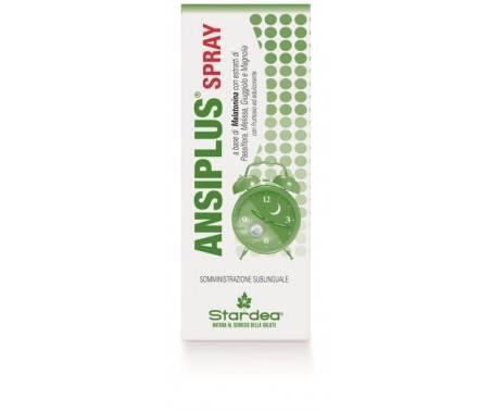Ansiplus Spray Orale Integratore Sonno 20 ml