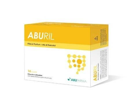 Aburil Integratore Di Fibre e Probiotici Lassativo 14 Bustine