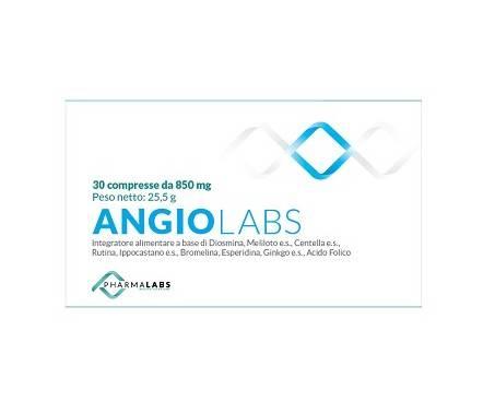 Angiolabs Integratore Per Il Microcircolo 30 Compresse