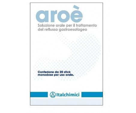 Aroè - Integratore per il reflusso gastrico - 20 Stick