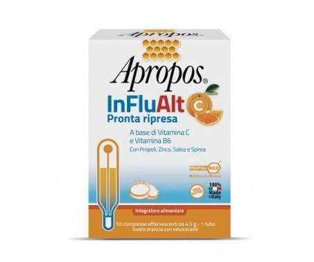 Apropos InFluAlt C Pronta Ripresa Integratore di Vitamine 10 Compresse Effervescenti