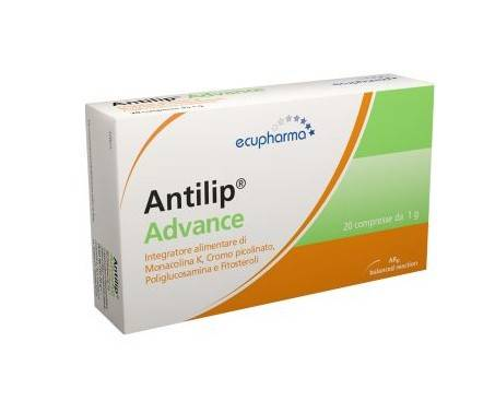 Antilip Advance - Integratore per il controllo del colesterolo - 20 compresse
