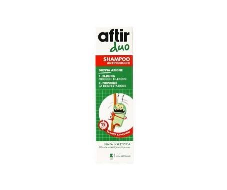 Aftir Duo Shampoo Antipidocchi A Doppia Azione 100 ml