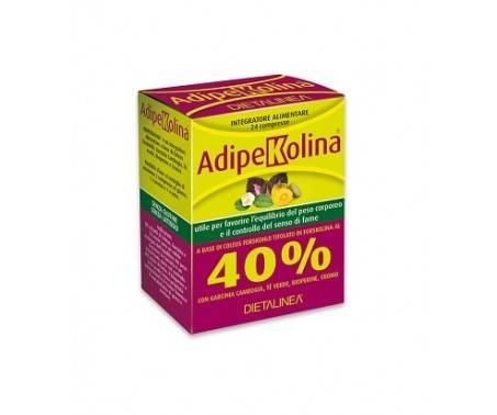 Adipekolina Integratore Controllo del peso 24 Compresse