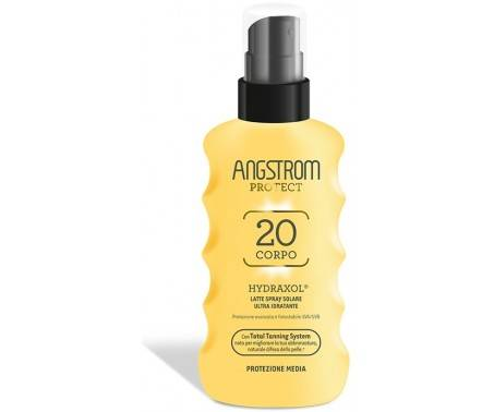 Angstrom Latte Solare Spray Ultra Idratante SPF 20 Corpo 175 ml