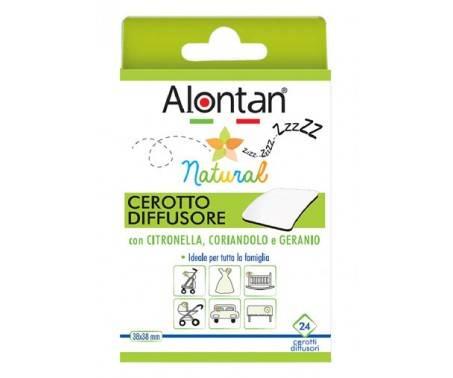 Alontan Natural Cerotto Diffusore Anti Zanzare 24 Pezzi