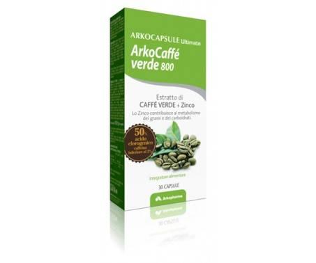 ArkoCaffè Verde 800 Integratore 30 Capsule
