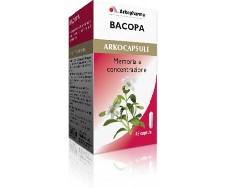Arkocapsule Bacopa Integratore 45 Capsule