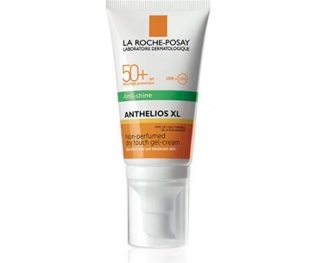 La Roche Posay Anthelios XL Gel-Crema Solare Tocco Secco Anti-lucidità Senza Profumo SPF 50+ Viso 50 ml