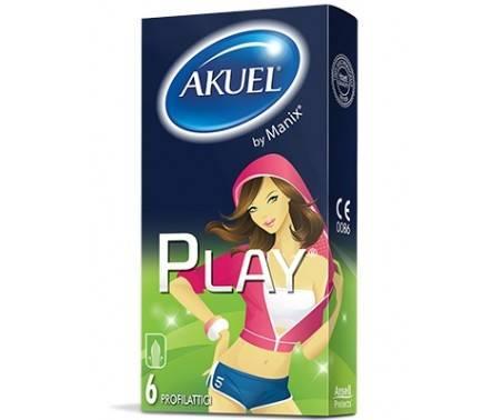Akuel Play - Profilattico sicuro e confortevole - 6 pezzi