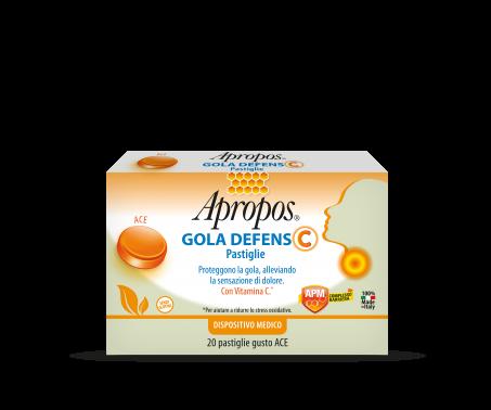 Apropos Gola Defens C Ace 20 pastiglie