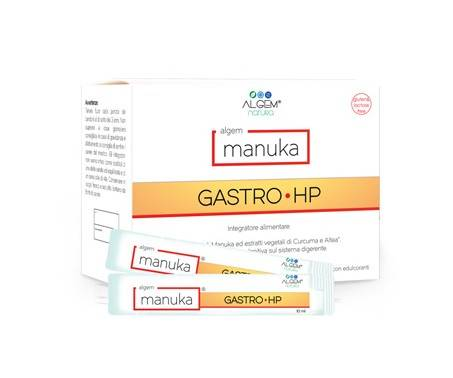Algem Manuka Gastro HP Integratore 15x10 ml
