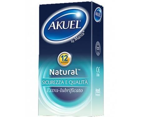 Akuel Play Natural Profilattico Classico 6 Pezzi