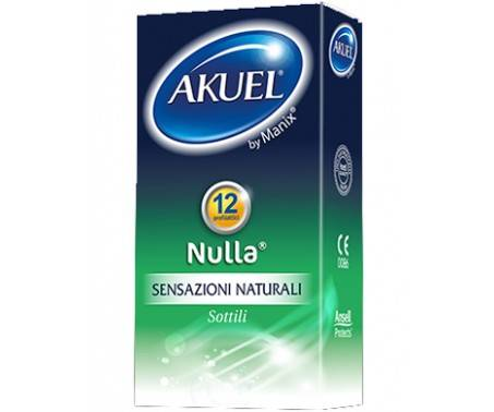Akuel Preservativi Nulla Sottile 6 Pezzi