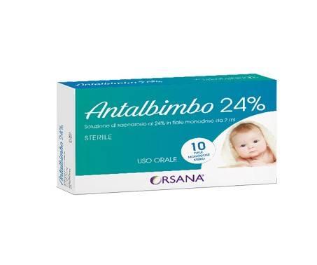 Antalbimbo 24% Soluzione Sterile Di Saccarosio Per Neonati 10 Fiale