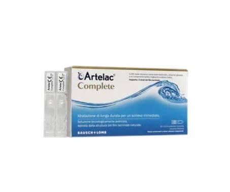 Artelac Complete Soluzione Secchezza Oculare 10 Flaconi 0,5 ml