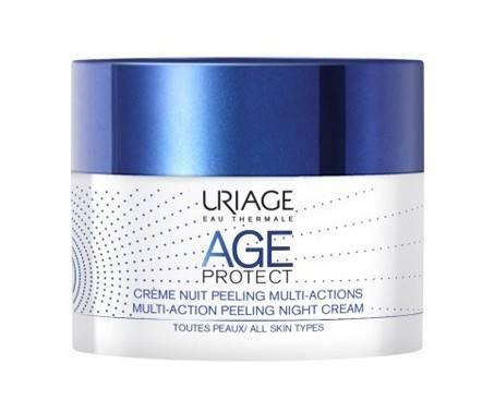 Uriage Age Protect Crema Notte Peeling Multiazione Antietà Viso 50 ml