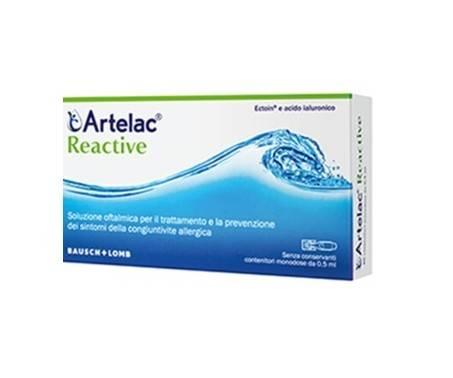 Artelac Reactive Soluzione Oftalmica Congiuntivite Allergica 20 Flaconcini Monodose